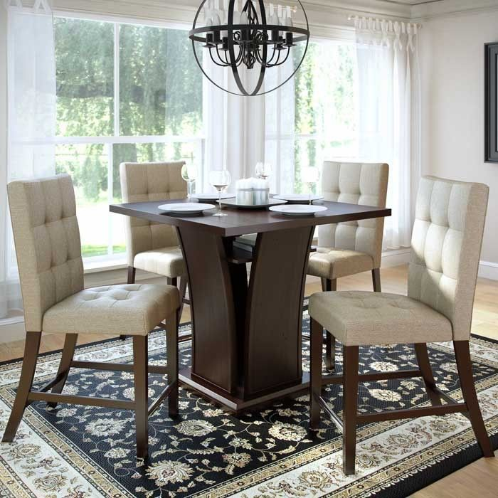 CorLiving Bistro 5 Piece Counter Height Dining
