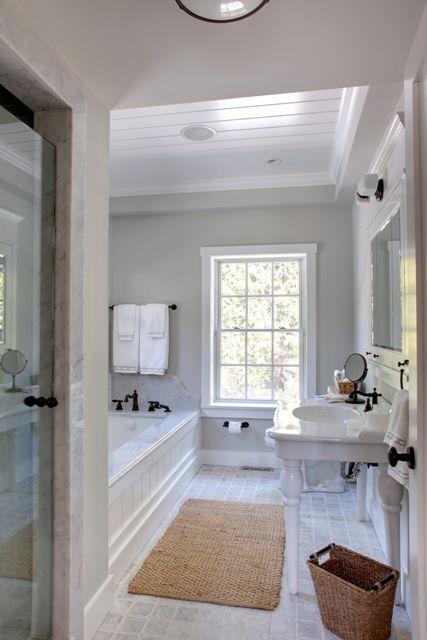 Master ensuite bath. See more. grey walls & 22 best Croft Lodge Master Ensuite images on Pinterest | Bathroom ... azcodes.com