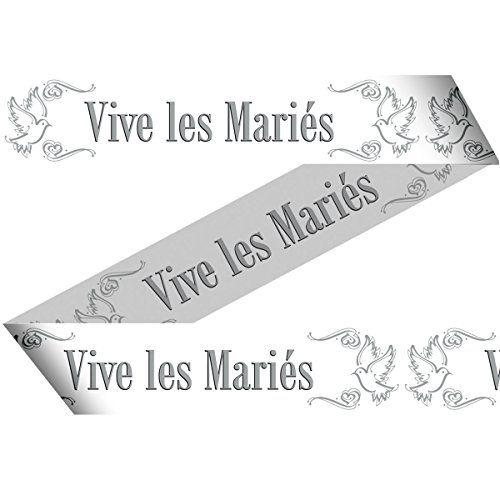 banderole vive les mariés