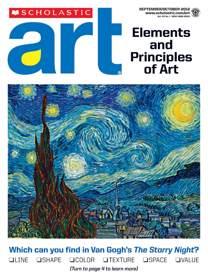 The 8 Principles Of Art : Best scholastic art magazine for middle school and high
