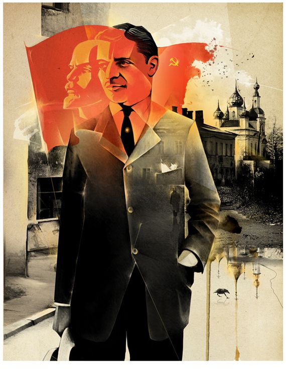Alexey Kurbatov portraits illustration
