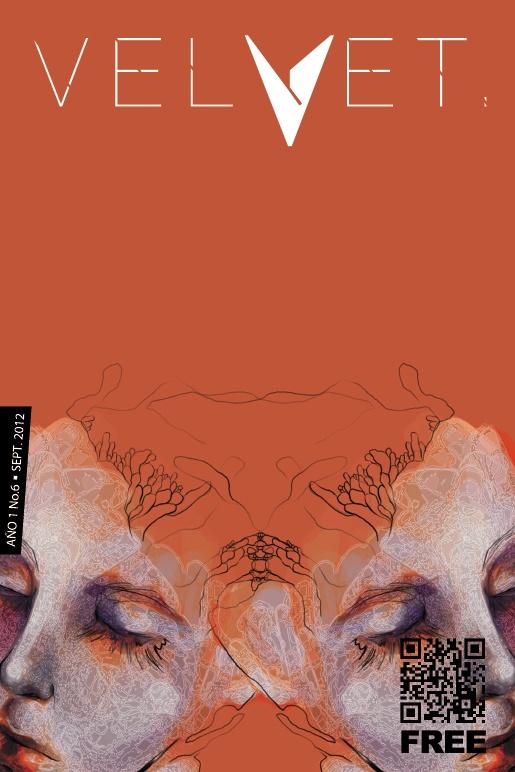 Portada Revista Velvet Año1 No. 6 por Carolina Rodriguez Fuenmayor