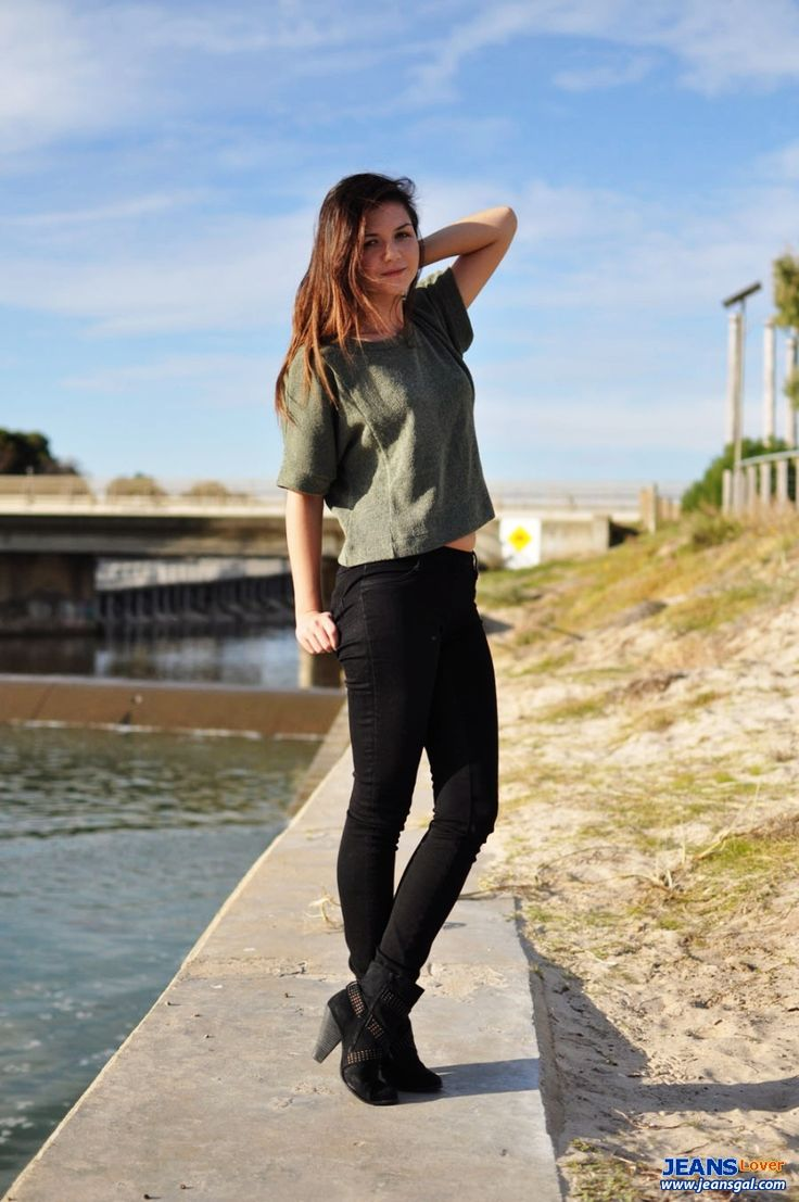 Pin by Belen Vazquez on JEANS LEGGINS AND BOOTS | Pinterest | Body  stocking, Thighs and Skinny