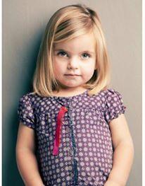 De boblijn blijft een trend ook voor meisjes! - Kinderkapsels