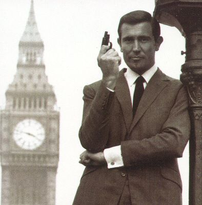 "George Lazenby...the only ""one and out"" James Bond!"