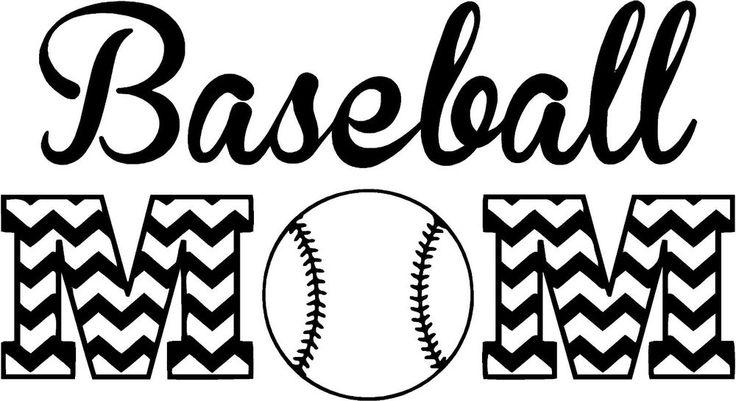 Baseball Mom Chevron Vinyl Car Window Decal Sticker Laptop Tablet Crafts   eBay
