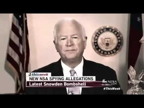 Anonymous - OpNSA Release IV Saxby Chambliss - YouTube