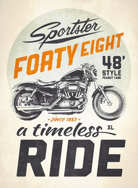 Sporster Forty Eight by Victorsbeard