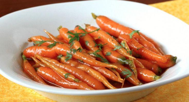 Elle accompagnera votre souper…La carotte glacée au miel! #carotte #glacée #miel…