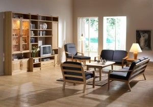 The photo shows: 1260K easy chair w/Comfort 0049 1260HK high back chair w/Comfort 0049 1260FSK footstool w/Comfort 0049 1260K/2 2-seater sofa w/Comfort 0049 1260K/3  3-seater sofa w/Comfort 0049 9258K coffee table 9256EK end table K4 frederiksborg wall unit combination