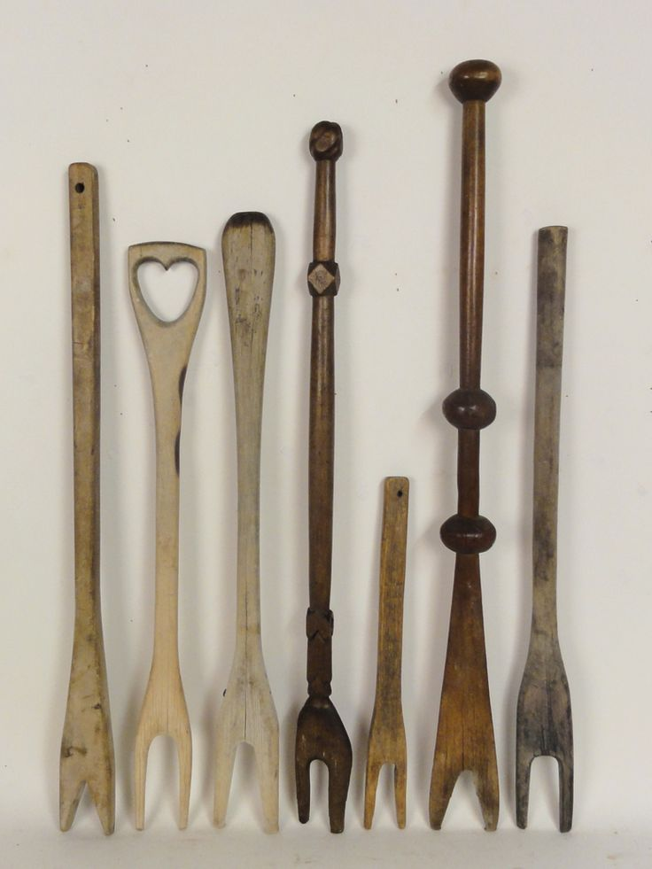 """antique 19th century carved wooden wash sticks ranging is size from 16 1/4"""" to…"""