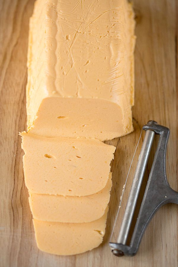 DIY: Homemade American Cheese...no gross ingredients...but would love to try this sometime...for all those yummy recipes that use the nasty for you velveeta.