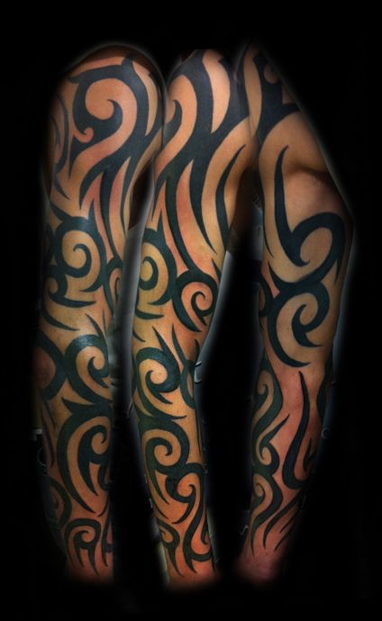 tribal tattoos for women | tribal half sleeve tattoos for women ideas