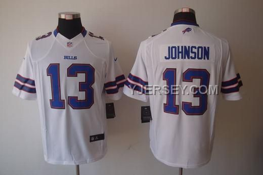 http://www.yjersey.com/for-sale-nike-bills-13-johnson-white-limited-jerseys.html FOR SALE NIKE BILLS 13 JOHNSON WHITE LIMITED JERSEYS Only $36.00 , Free Shipping!
