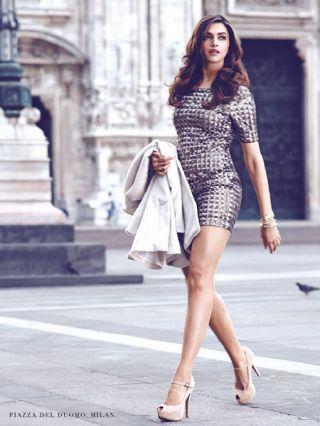 Deepika Padukone: Deepika Padukone looks smokin' hot in this sexy photo shoot filmed in Milan. Those legs are too die for, don't you think?Photo shoot for Van Heusen