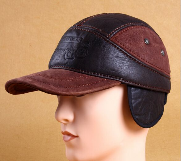 $26.00 (Buy here: https://alitems.com/g/1e8d114494ebda23ff8b16525dc3e8/?i=5&ulp=https%3A%2F%2Fwww.aliexpress.com%2Fitem%2FGenuine-leather-baseball-cap-hat-first-layer-of-cowhide-hat-cap-male-cap-autumn-and-winter%2F32705771356.html ) Genuine leather baseball cap hat first layer of cowhide hat cap male cap autumn and winter thermal quinquagenarian casual cap for just $26.00