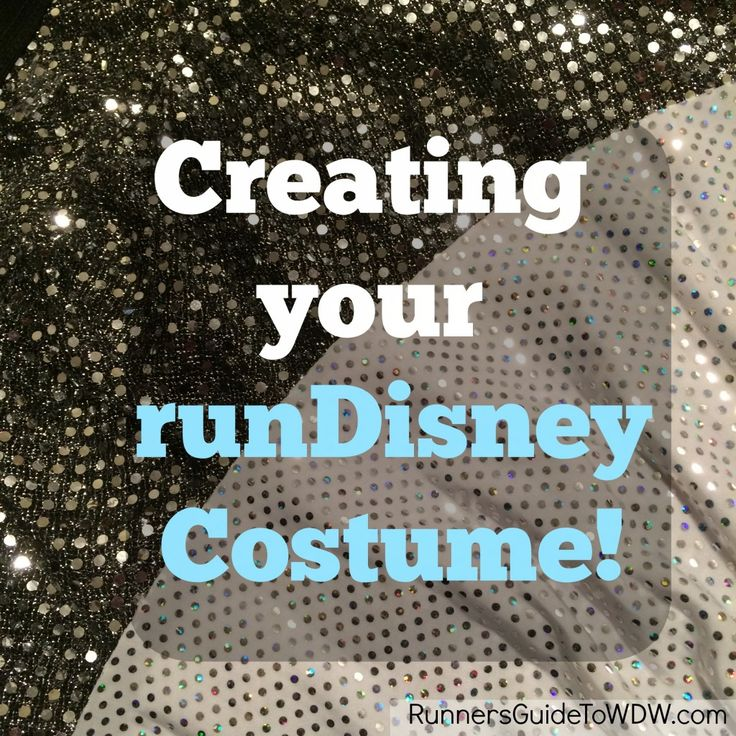 Tips on how to create your runDisney race costume!   @whitneyspillers and @atidwell we made the blog!!!
