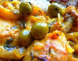 Recette - Tajine de poulet aux citrons | Notée 4/5