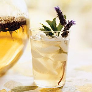 lavender mint ice tea (make with black or green tea?)