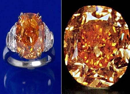 fancy of diamond copy another cushion jewelry cut vivid image carat the enlarged orange pumpkin famous