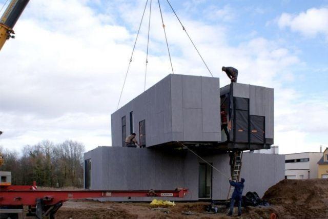Bouw je huis in twee dagen met modulair bouwen!