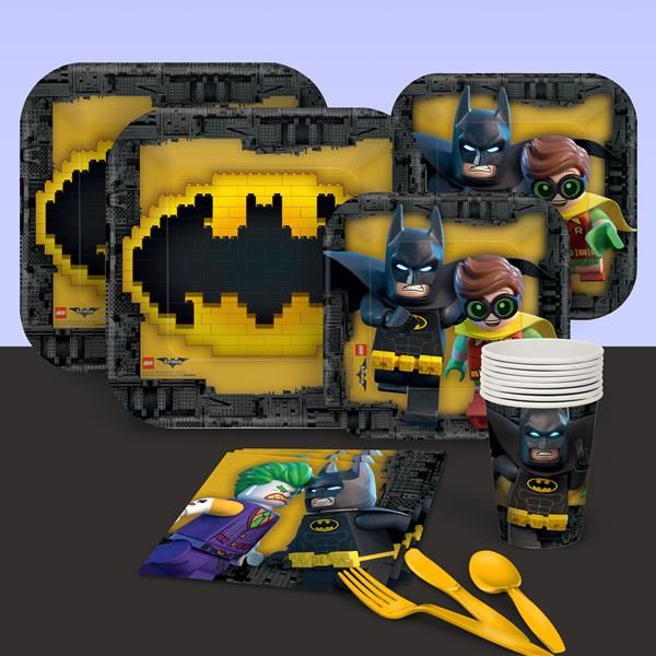 Build an amazing Lego Batman birthday party brick by brick with these Lego Batman party ideas and supplies. Featured here are decorations, invitations, cake, favors and more. Lego Batman stole the show in the Lego Movie and now has his own movie to stamp his claim or rather shine his symbol on.Batman is always a …