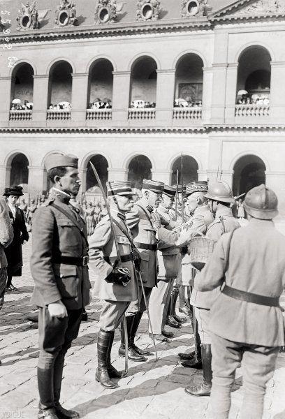 Dreyfus, officier de la légion d'honneur, 1919   Vergue