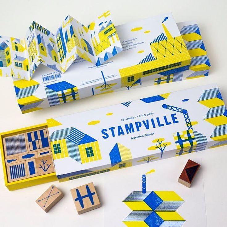 Stamps by Aurelien Debat #craft