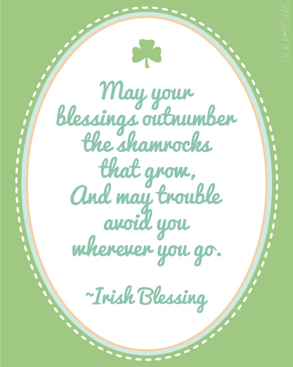 23 Best Images About Irish Blessings On Pinterest