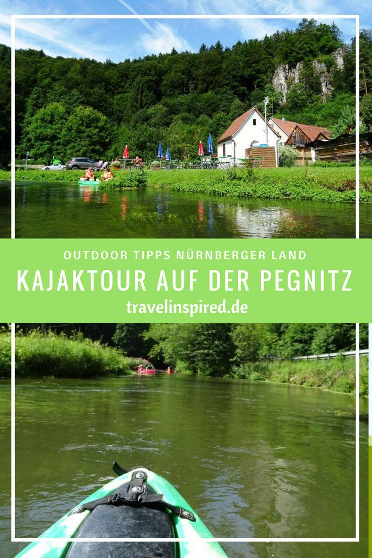 7 Outdoor Tipps im Nürnberger Land: Ob Kanufahren, Kajaken, Wandern, Klettern oder Mountainbiken – die Auswahl ist riesig. Besonders gefallen hat uns die Kajaktour auf der Pegnitz