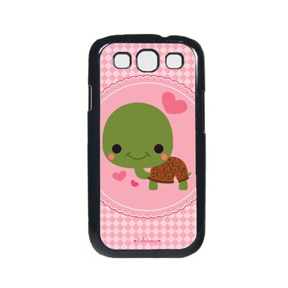 WANT! - Samsung Galaxy S3 Phone Case Sweet Turtle Case for by Chowtari, $14.95