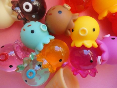 kawaii vinyl toy octopus takochu japan japanese cute Takochu are apparently very hard to find here in the States.