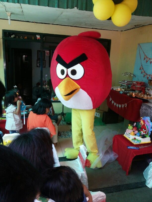 Angry birds caracter