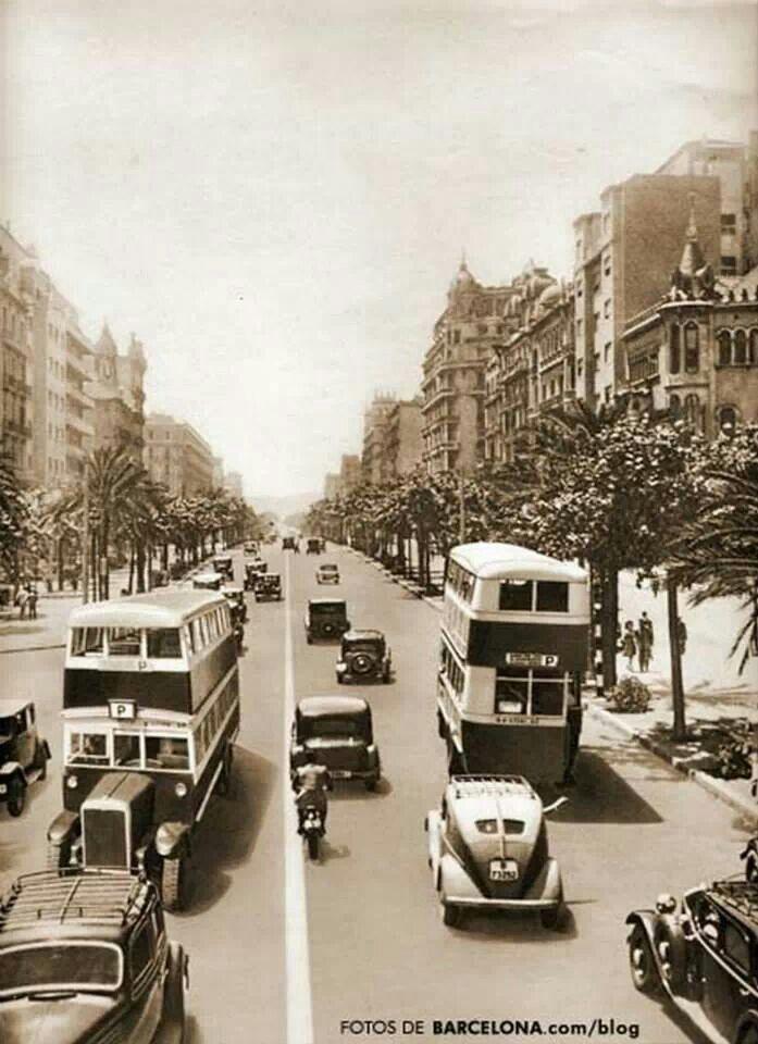 Avenida Diagonal, Barcelona, Spain