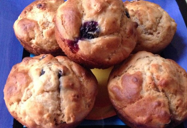 Banana and Berry Muffins - Real Recipes from Mums