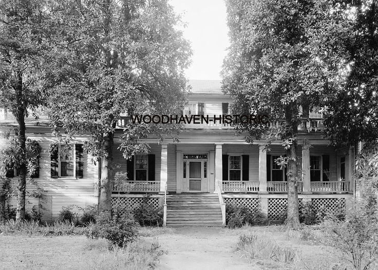 Hillhouse-Callaway-Toombs-Wood House, Washington, Wilkes County, GA 1940s Photo