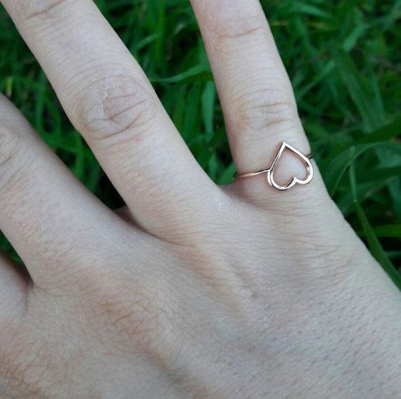 Check out this item in my Etsy shop https://www.etsy.com/listing/268943950/heart-ring-gift-heart-ring-cute-heart