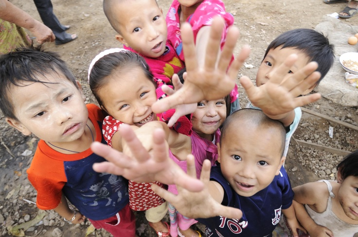 Refugees from Myanmar at Mae La Refugee Camp in Thailand.   UNHCR / R. Arnold via @UNHCR