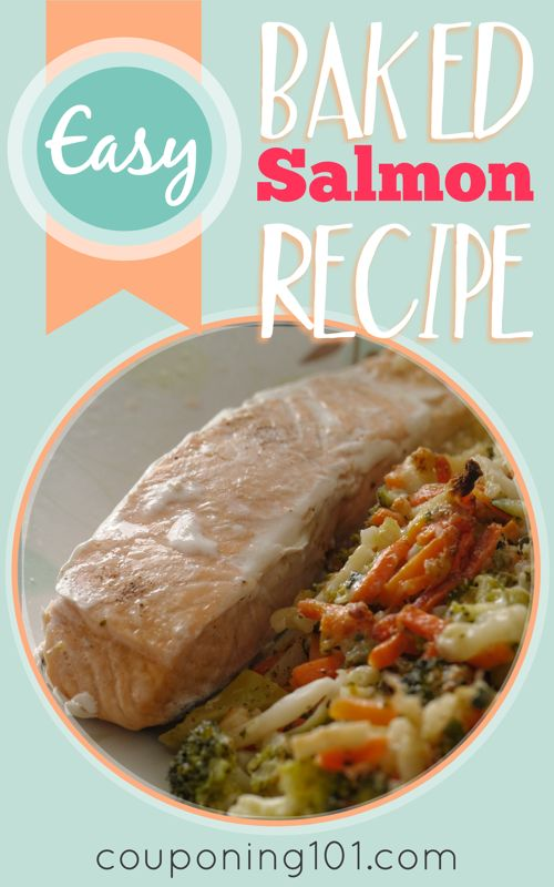 This Easy Baked Salmon Recipe is one of my favorite ways to cook salmon. It's simple, easy, and tastes wonderful!