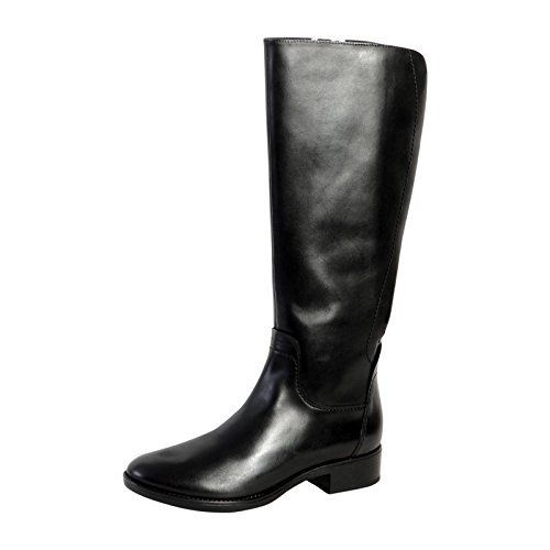 Geox D Felicity A, Bottes Femme: * Botte Geox * Coloris : Noir * Fermeture : A lacets * Type de bout : Rond * Doublure : Cuir et Textile *…
