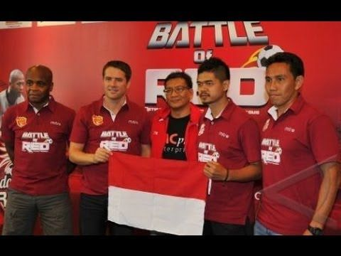Indonesia Red vs United Red Prediksi Battle Of Red - 23 Oktober 2013