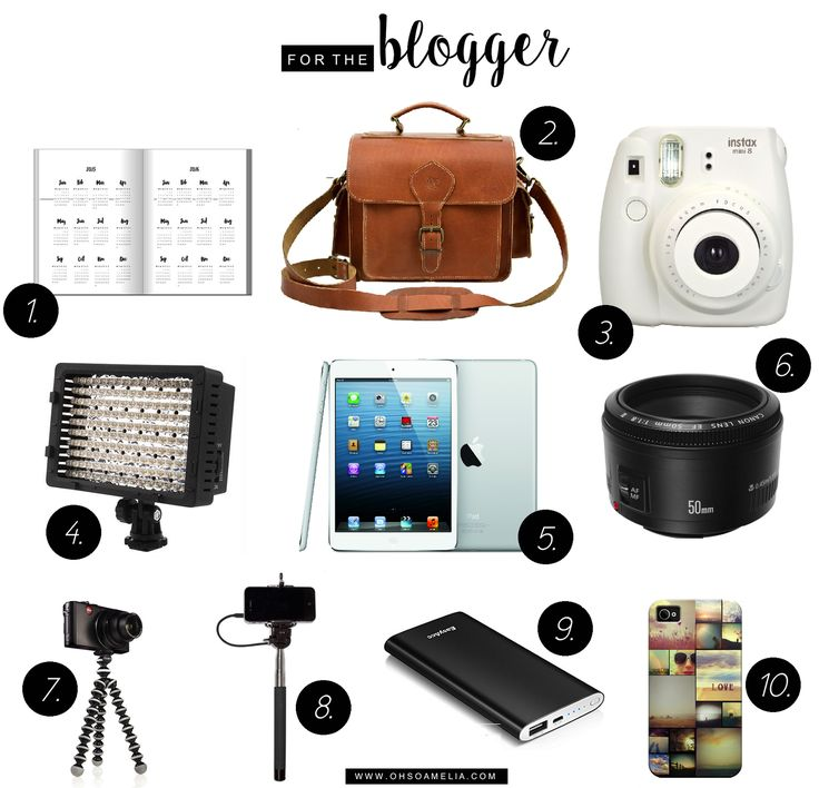 10 Great Gifts For Bloggers   The Bloggers Gift Guide   Oh So Amelia