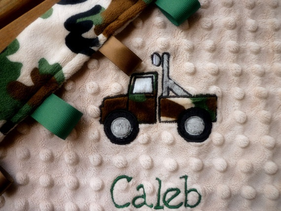 96 best waydes baby shower images on pinterest boy clothing personalized baby blanket minky baby boy camo by mylilluvbug negle Image collections