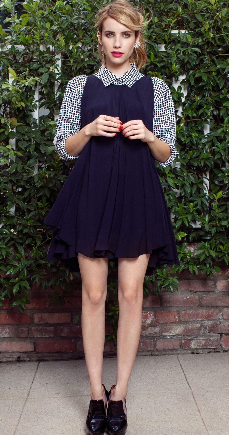 Emma Roberts - Guest Bartender | BaubleBar | Fairyland Ear Set: