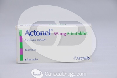 Actonel 35mg - Manufactured by Aventis Pharma(TM) All trade-mark rights associated with the brand name product belong to their respective owners.