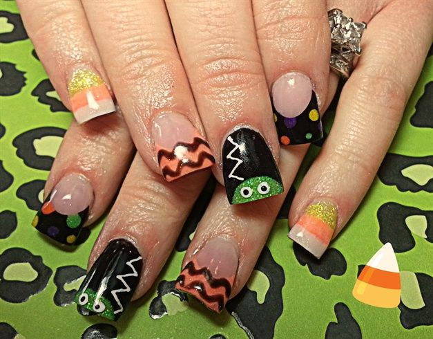 221 best halloween nail art images on pinterest holiday nails the bride by dcgroves nail art gallery nailartgalleryilsmag by nails magazine halloween prinsesfo Images