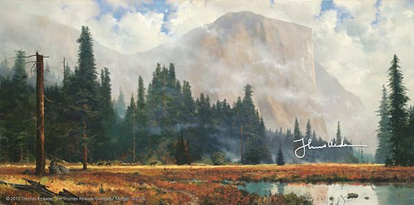 Yosemite Meadow by Thomas Kinkade