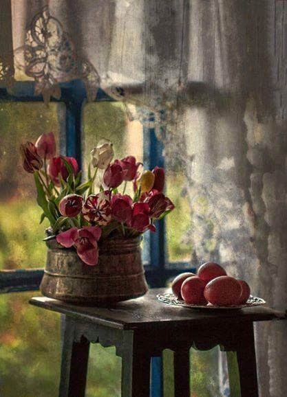 Still life by the window...