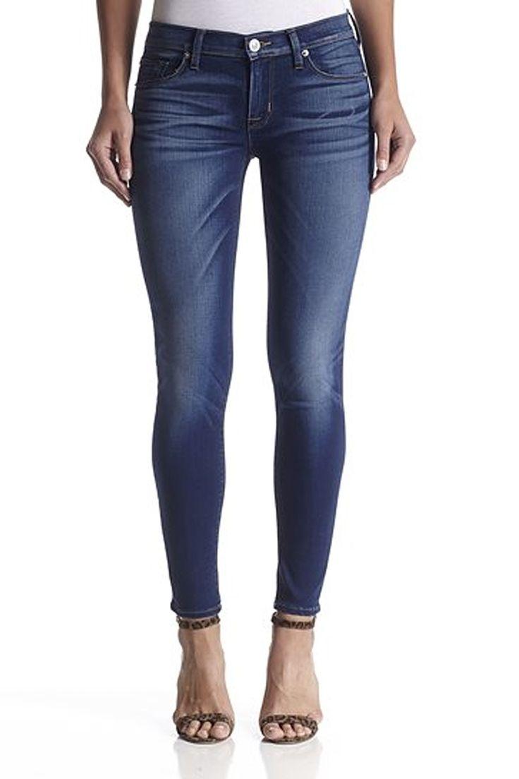 Women's Jeans-Hudson-Krista Ankle Super Skinny