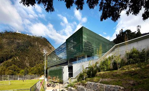 Sports Complex at the University of Los Andes
